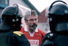 Les Enfants Terribles, Gerry Adams with Tyrone shirt