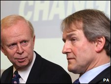 Empey (UUP) e Paterson (Conservatives)