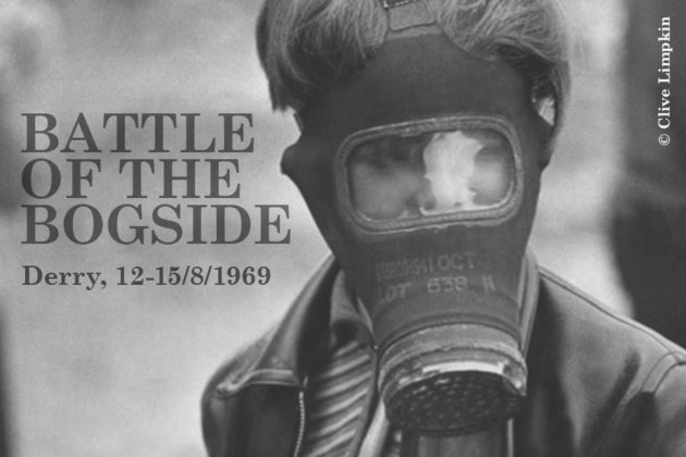 Battle of the Bogside | Derry, 12-15/8/1969