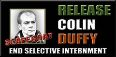 Rilasciate Colin Duffy - Release Colin Duffy