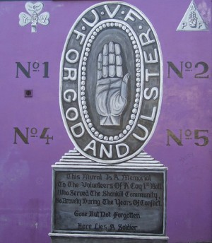 UVF - Ulster Volunteer Force - For God and Ulster