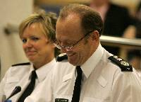 hugh orde at policing board
