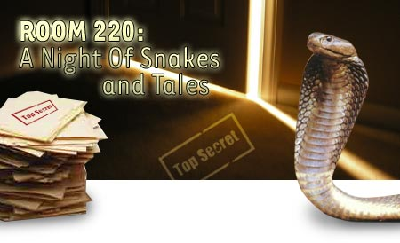 Room 220: a Night of Snakes and Tales
