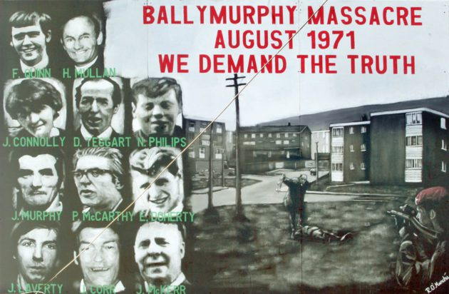 Ballymurphy Massacre | August 1971 | We demand the truth