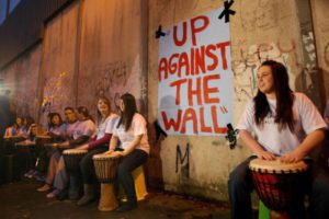 Up Against The Wall | Belfast | Peaceline