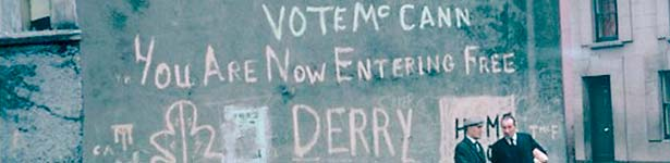 Free Derry Wall, 40 anni