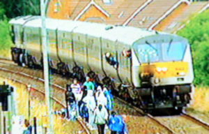Lurgan, treno sequestrato | Lurgan, hijacked train
