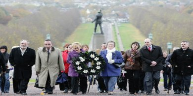 Disappeared: Silent Walk, Stormont