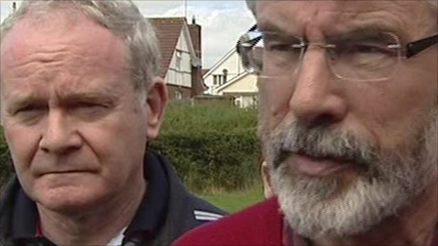 Martin McGuinness | Gerry Adams