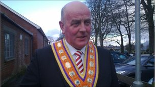 Edward Stevenson, Grand Master Orange Order