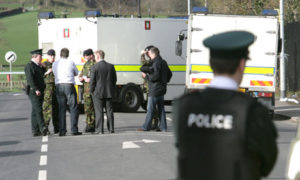 Agente ucciso da autoboba ad Omagh | Police officer killed in Omagh