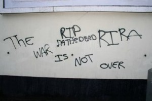 Real IRA graffiti