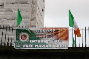Oppose British Internment - Free Marian Price | Derry 32 CSM