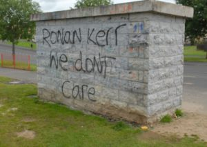 Ronan Kerr, we don't care