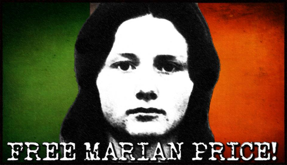 Free Marian Price: internamento incompatibile con una società normale