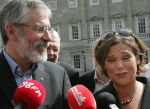 Gerry Adams - Mary Lou McDonald