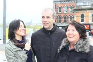 Colin Duffy, Linda Nash | Free Marian Price, Derry 22 aprile 2012