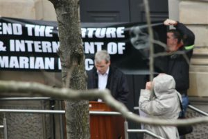 Gerry McGlinchey   Free Marian Price, Derry 22 aprile 2012