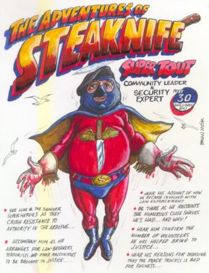 Steaknife, the super tout | Brian Mór