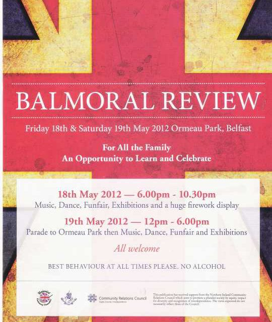 Balmoral Review: una folla unionista invade Belfast