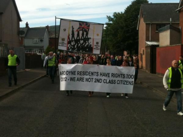 12 luglio 2012: Greater Ardoyne Residents Collective statement