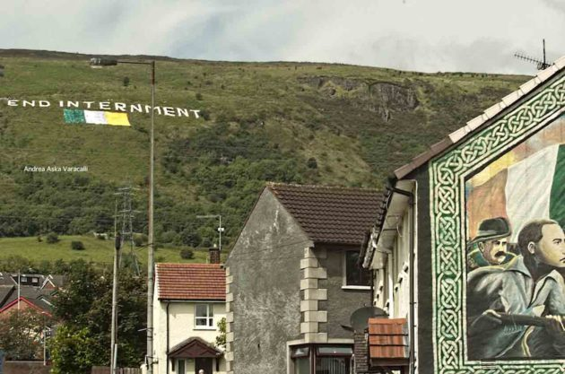End Internment, Black Mountain, Belfast | Andrea Aska Varacalli