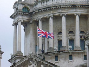 Union Jack, Belfast City Hall