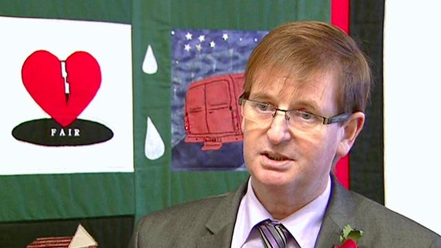 Willie Frazer lascia il Families Acting for Innocent Relatives