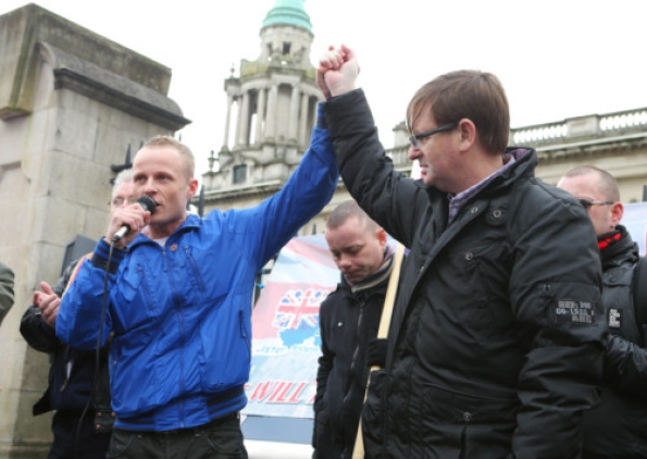 Jamie Bryson - Willie Frazer