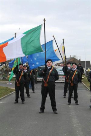 32 CSM - Easter 2013 - City Cemetery, Creggan - Derry