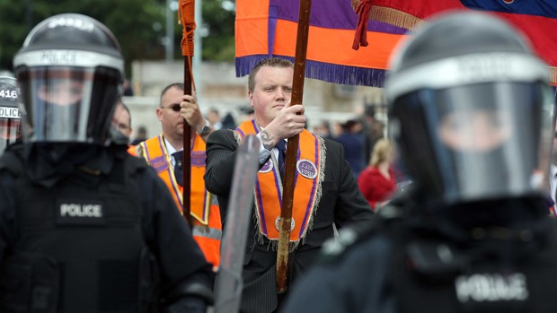 Orange Order ad Ardoyne, North Belfast