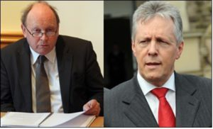 Jim Allister - Peter Robinson
