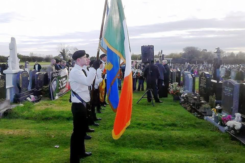 "Oglach Kevin ""Kiddo"" Murray, commemorazione 2013"