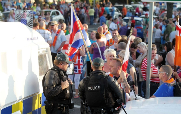 Orange Order a Twaddell Avenue