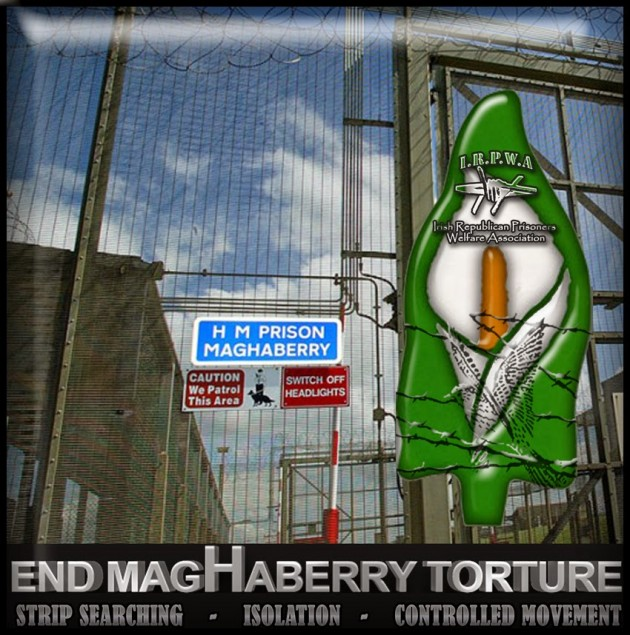 IRPWA | End Maghaberry torture