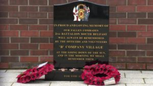 Memoriale UVF, South Belfast