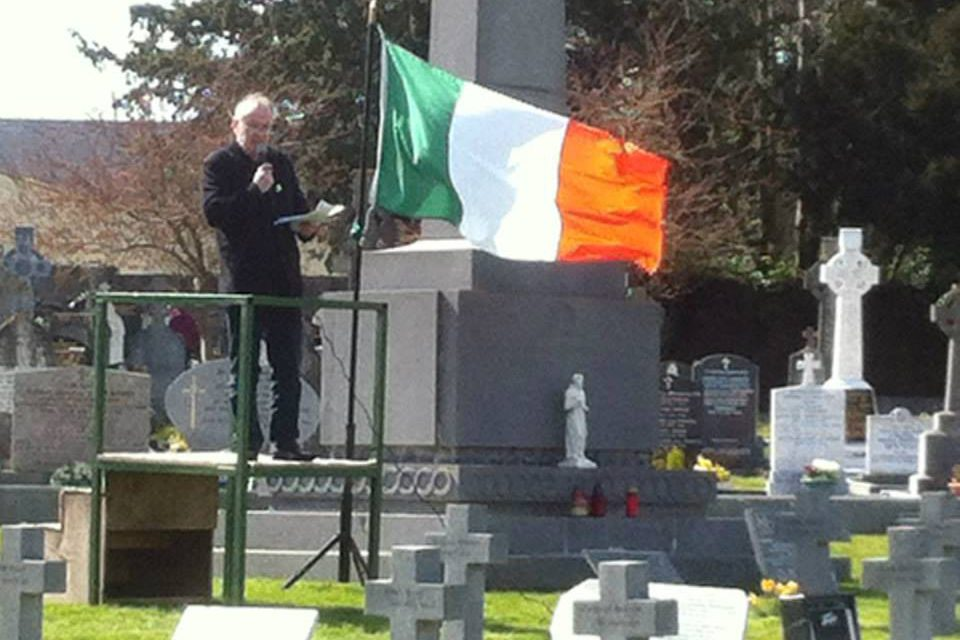 32CSM, Easter Commemoration 2015 in Cork