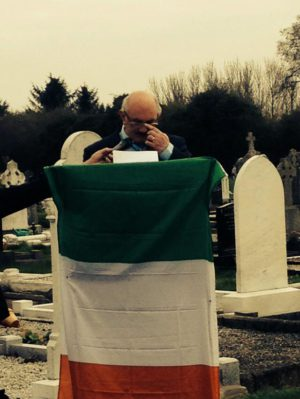 Rory Dougan, RNU Easter Commemoration 2015