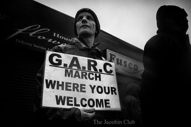 March where you are welcome | © The Jacobin Club