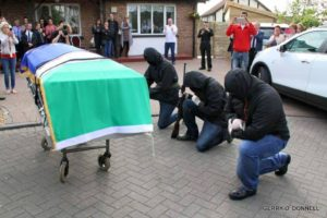 Funerale di Peggy O'Hara | © Gerry O'Donnell