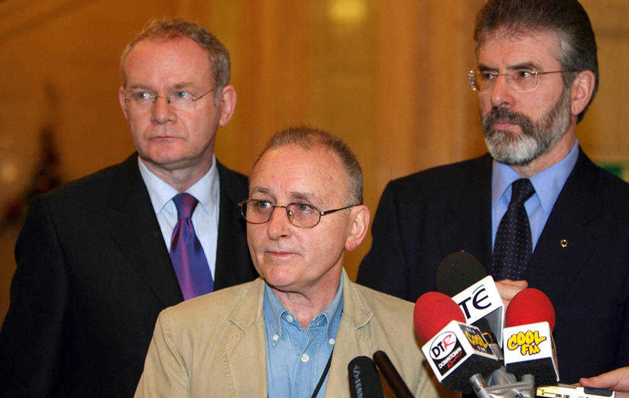Martin McGuinness - Denis Donaldson - Gerry Adams