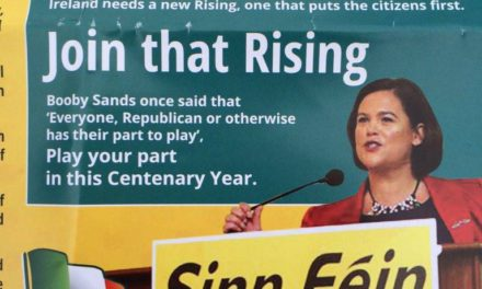 Mary-Lou McDonald e Bobby Sands