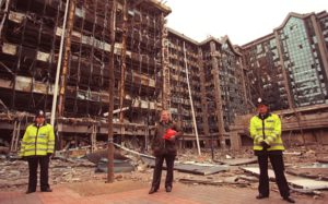 The 1996 IRA bombing of London's Docklands used a bomb containing Semtex | Photo: Andrew Winning