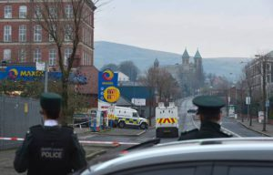 Attacco a Crumlin Road | © Arthur Allison - Pacemaker Press