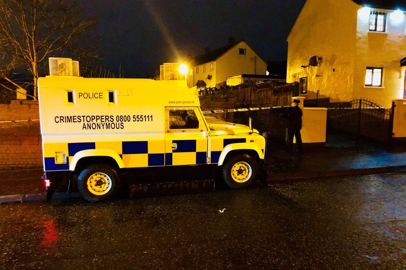 Attacco in stile paramilitare a Ballymurphy, West Belfast
