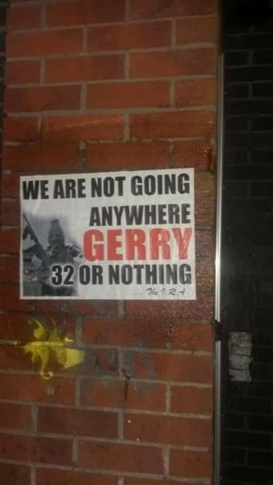 We are not going anywhere | IRA