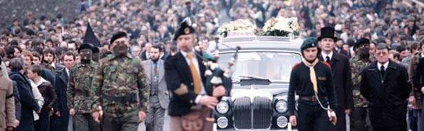 funerale di Bobby Sands