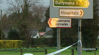 Massereene Barracks ad Antrim