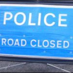 Psni: strada chiusa - road closed